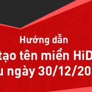 Hướng dẫn tạo tên miền Hikvision từ sau ngày 30.12.2016
