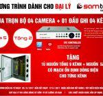 Khuyến mãi tháng 6: Mua 5 Tặng 2 cho bộ camera, đầu ghi hình Samtech
