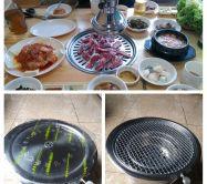 bếp nướng than âm bàn  hàn quốc