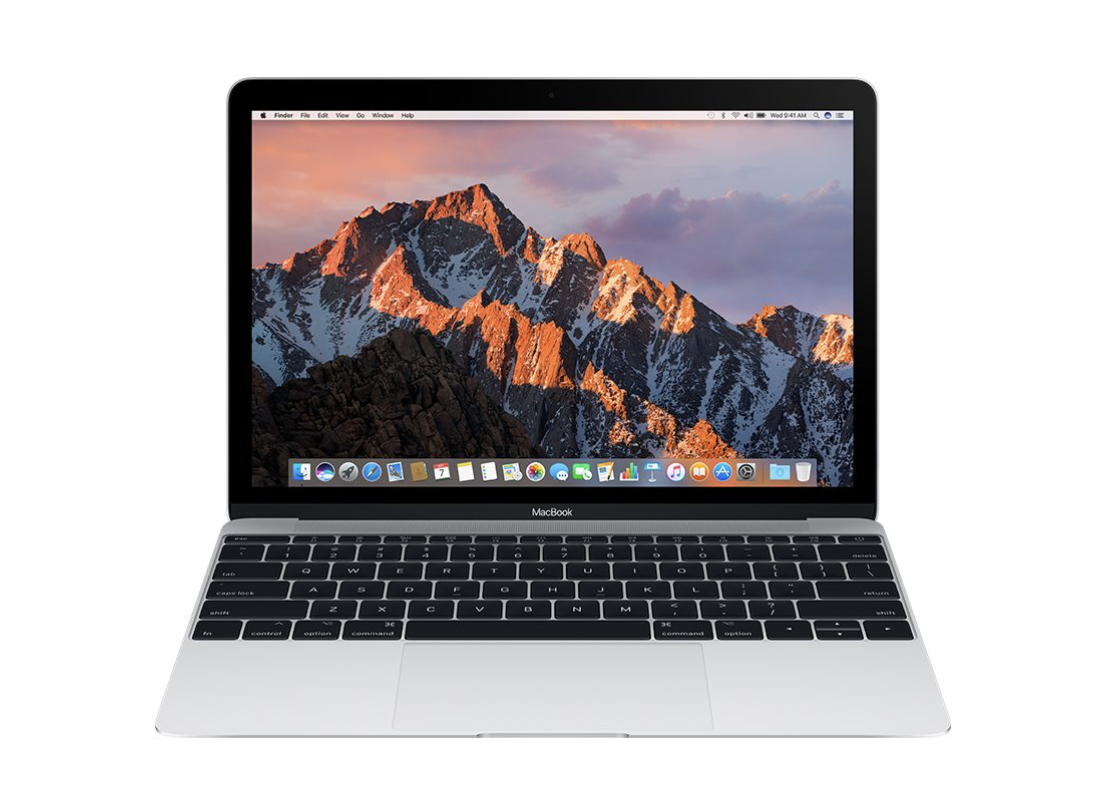 New Macbook 2017 - 12'' - 256GB - MNYH2 - Silver