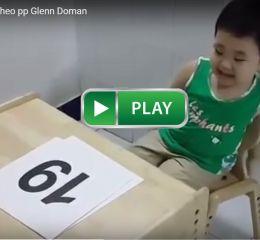 Bé Gấu học Toán theo pp Glenn Doman