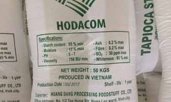 VIETNAM TAPIOCA STARCH HIGH QUALITY