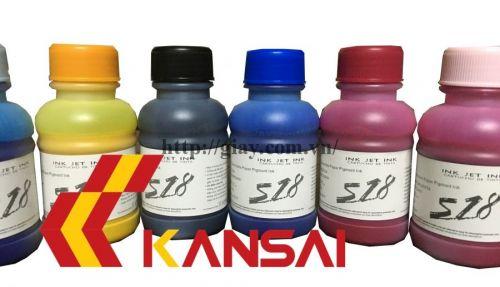 Mực Pigment UV (in giấy Couche)