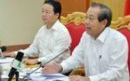 Bộ trưởng Trần Hồng Hà: Giám sát 24/24h các nguồn thải của Formosa