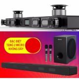 Loa soundbar Karaoke kết nối bluetooth 4.0 JY A9Ks ( tặng 2 micro không dây)