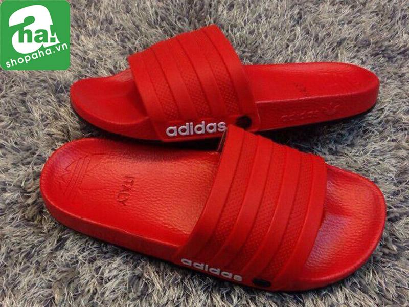 Dép Quai Ngang Adidas Đỏ DQ106
