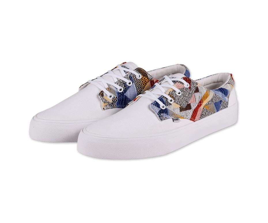 Giày Sneakers Đức Nam Big Size Trắng