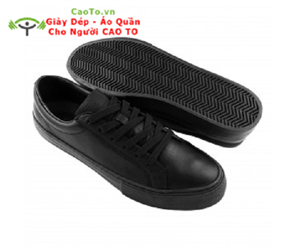 Giày Big Size Sneaker Full Black