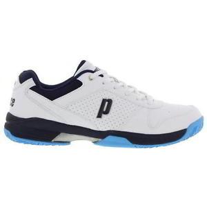 Giày Tennis Prince Trắng-Đen-Xanh