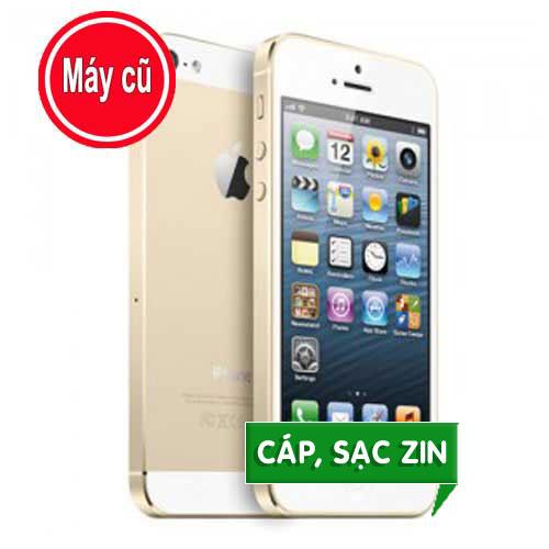 IPHONE 5S 64GB MÀU VÀNG GOLD QUỐC TẾ (MÁY CŨ 99% Zin Nguyên Bản)