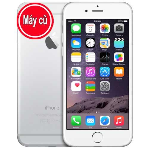 IPhone 6 128GB Màu Trắng Silver Quốc Tế (Máy Cũ 99% Zin Nguyên Bản)