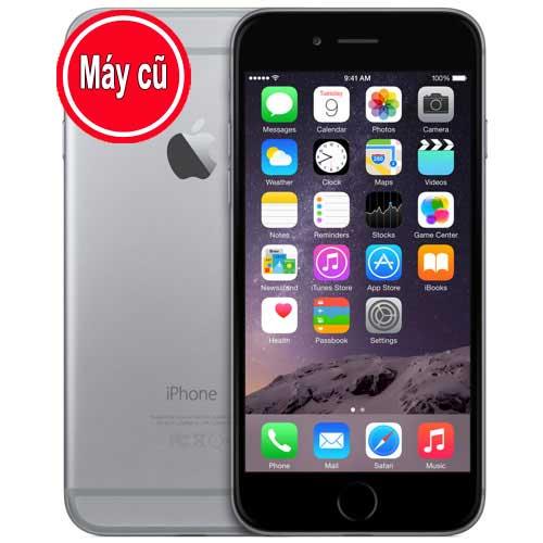 IPhone 6 64GB Màu Đen Gray Quốc Tế (Máy Cũ 99% Zin Nguyên Bản)