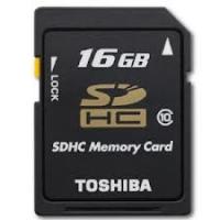 SDHC 16GB Toshiba Class 10 48mb/s