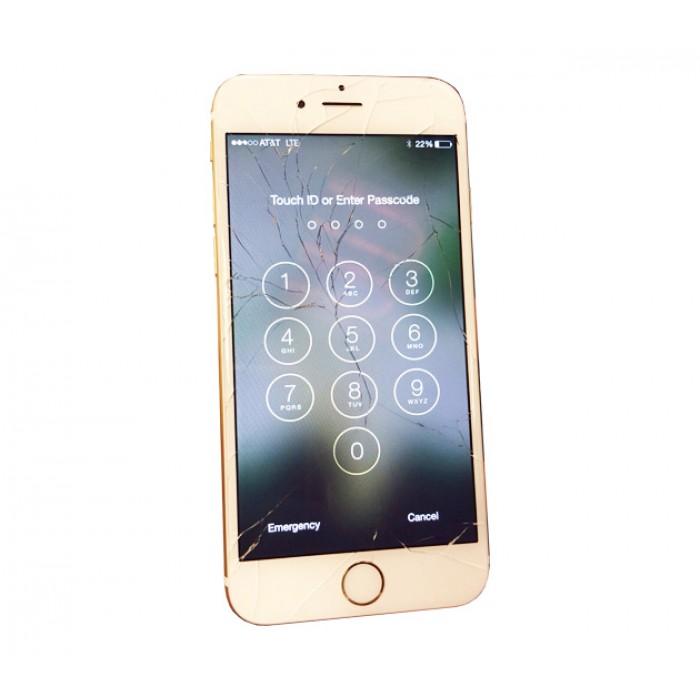 Thay kính Iphone 6 (vòng zin 7 màu,kính liền ron)