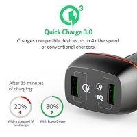 Sạc ôtô Anker PowerDrive+ 2 - 42W [Qualcomm Quick Charge 3.0]