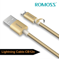 Cáp sạc iPhone/iPad Romoss Lightning Cable (Bọc Nylon bền)