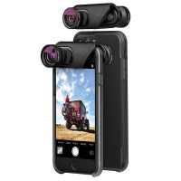 Olloclip Core Lens + ollo Case for iPhone 7/7 Plus (2 cases included)