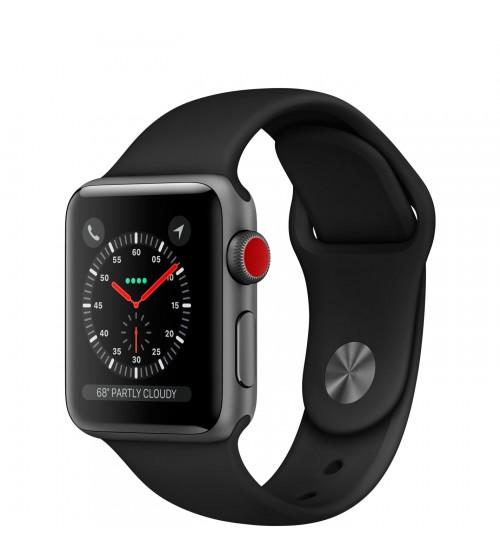 Apple Watch Series 3 38mm - Space Gray - MQJP2( 4G )