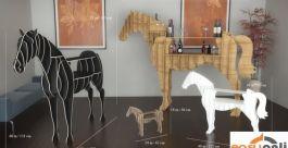 Kệ trang trí hình ngựa