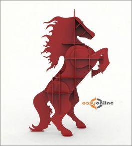 kệ sách hình ngựa