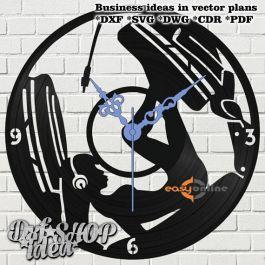 đồng hồ treo tường mang phong cách châu âu-A07