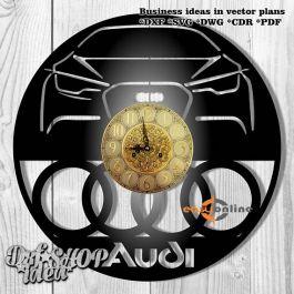 đồng hồ treo tường mang phong cách châu âu-A02
