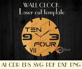 đồng hồ treo tường mang phong cách châu âu-A01