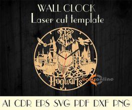 đồng hồ treo tường mang phong cách châu âu-A19