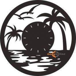 đồng hồ treo tường mang phong cách châu âu-A21