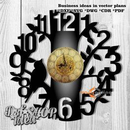 đồng hồ treo tường phong cách châu âu-A25