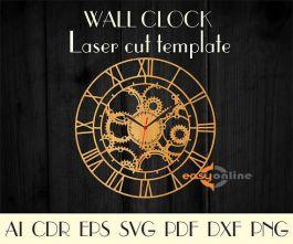 đồng hồ treo tường phong cách châu âu-A27