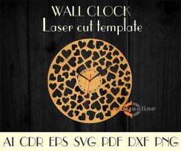 đồng hồ treo tường phong cách châu âu-A30