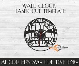 đồng hồ treo tường phong cách châu âu-A31