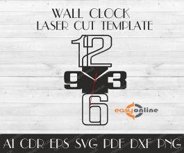 đồng hồ treo tường phong cách châu âu-A32