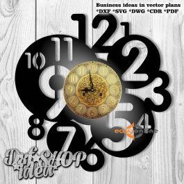 Đồng hồ treo tường mang phong cách châu âu-A40