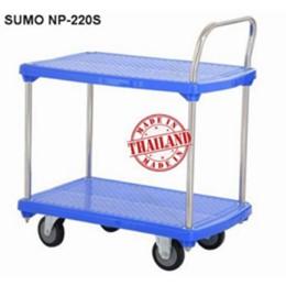 Xe đẩy hàng sàn nhựa SUMO Thái Lan NP-220S