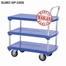 Xe đẩy hàng sàn nhựa SUMO Thái Lan NP-230S