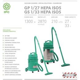 MÁY HÚT BỤI IPC GS 1-33 HEPA