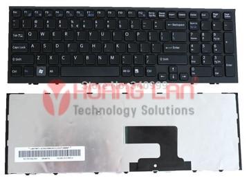 Bàn phím Laptop Sony EH (Đen)