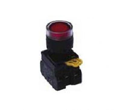 Nút nhấn có đèn vàng 24V