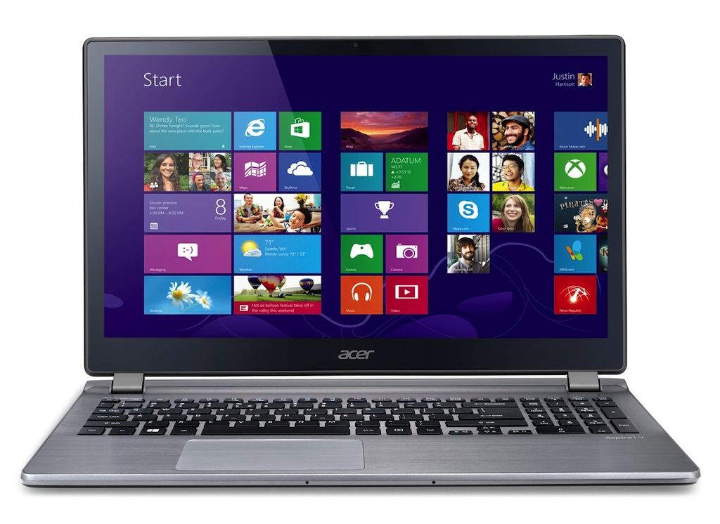 "Acer Aspire V3 -572G-7609/i7-4510U/NVIDIA 840M/15.6"" IPS Full HD /HDD 1TB, Ram 16GB"