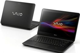 "Vaio FIT SVF14213CXB-14"" touch HD+/i3 3227U/HDD500GB/RAM 4GB, Intel HD4000, backlit keyboard, NFC"