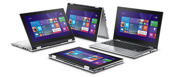 Dell Inspiron 7347 CONVERTIBLE-13.3''Full HD touch/i5-4210U/HDD500GB/8GB