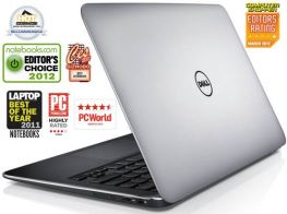 "Dell XPS 13 ULTRABOOK Core™ i7-2637M 1.7GHz, Turbo 2.8Ghz; 256GB; 4GB ; Màn hình 13.3"" HD, Webcam"