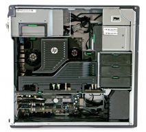 HP Z620 Workstation, 2 CPU E5-2670 2.6GHZ/RAM 32GB/HDD 1TB/SSD 128GB, Quadro 2000, DVDRW, Windows 7