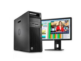 HP Z640 WORKSTATION 02 CPU E5-2630V4 2.20 GHz/20 lõi, 40 luồng /32 GB/SSD 192GB/2 TB/Quadro M2000 4GB, HP New Outlet