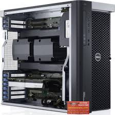 Dell Precision T7610, 2 XEON E5-2660V2 2.2GHZ/40 CPU/32 GB RAM/HDD 1 TB/SSD 192GB/Quadro K4000 3GB