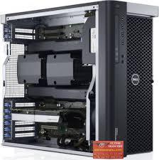 Dell Precision T7610, 2 XEON E5-2680V2 2.8GHZ/40 CPU/32 GB/SSD 192GB/2 TB/Quadro K5000 4GB