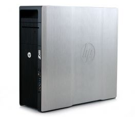 HP Z820 Workstation; 2 CPU Xeon E5-2667 2.9GHz/24 CPU/32 GB/SSD 120GB/1TB/Quadro K4000 3GB