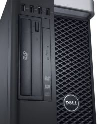 Dell Precision T5610, 2 x Xeon E5-2630V2 2.3GHz/24 CPU/16 GB/HDD 1TB/SSD 128GB/Quadro K2000 2GB